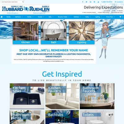 Ruehlen Kitchen & Bath Showroom website